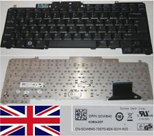 Teclado Qwerty UK DELL D620 D820 K060425F 0CW640 CW640 No Pointer Negro