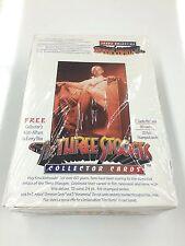 1997 The Three Stooges Trading Card Factory Box (30 pks + Official Album)-Rare