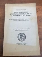 a bibliography of nuristan  & the kalash kafirs of chitral .part 2 documents