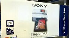 SONY PRINTER DPP-FP55  used Plus 2 full boxes DPP-F (240 Pictures)