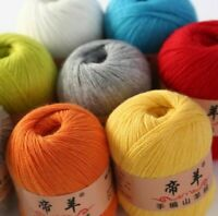 Cashmere Yarn Hand Knitting Set Wool Ball For Scarf Hat Socks Gloves Soft Warm