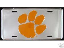 Brand New! Clemson Tigers Dlx License Plate   cr