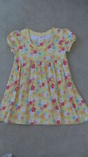 GYMBOREE~SPRING RAINBOW YELLOW FLORAL DRESS~sz.3
