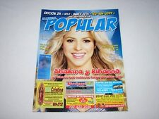 La Revista Popular Magazine March 2014 Issue SHAKIRA Latin NEW RARE