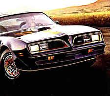 1977 PONTIAC BROCHURE -FIREBIRD-FORMULA-TRANS AM-GRAND PRIX-LEMANS-VENTURA