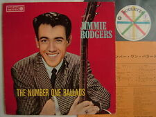 JIMMIE RODGERS THE NUMBER ONE BALLADS / 60'S FLIPBACK C