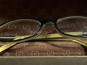 Gucci Eyeglasses Glasses Case Frames Authentic