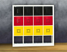 12er Set Tür Deutschland Fahne Flagge für Fan Regal Ikea Expedit Kallax XXXL *