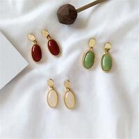 Geometric Personality Pendant Earrings Women Metal Ear Studs Earring Jewelry.