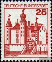 BRD (BR.Deutschland) 996R mit Zählnummer postfrisch 1978 Burgen und Schlösser