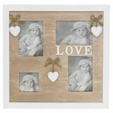 Wooden Vintage/Retro Multi-Picture Frames