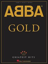 ABBA GOLD GREATEST HITS PIANO VOCAL GUITAR SHEET MUSIC SONG BOOK