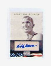 2012 Americana Bobby Joe Morrow Autograph Card 1956 Olympic 3 Gold Medals Track