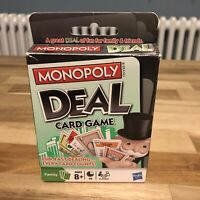 Monopoly Deal Card Game by Hasbro Fun for all the Family 100% Complete