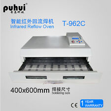 PUHUI T-962C 2500W T962C Infrared IC Heater T 962C Reflow Wave Oven Infrared IC