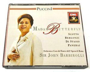 Sir John Barbirolli Puccini Madama Butterfly 1989 EMI CMS 7 69654 2 UK E090