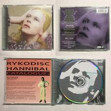 DAVID BOWIE Hunky Dory CD GREEN CASE (1990 Rykodisc - RCD 10133) BONUS TRACKS