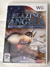 BLAZING ANGELS SQUADRONS OF WW2 FLYING GAME WII PAL
