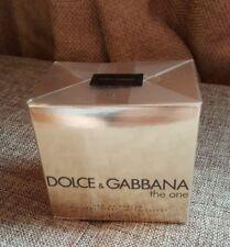 New Sealed Dolce & Gabana The One EDP 2.5oz women perfume