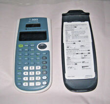 TI-30XS MultiView Texas Instruments Calculator Working w/Scratches Solar Panel