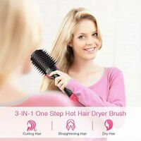 Hair Dryer Volumizer Rotating Hot Hair Brush Curler Roller Rotate Styler Comb
