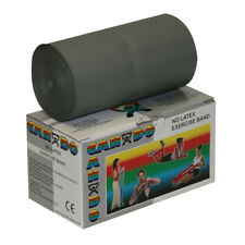 CanDo Latex Free Exercise Band-6 yard roll-Silver-xx-heavy-1357517 10-5616 NEW