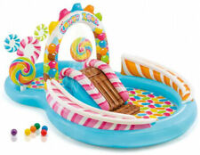 Inflatable Kids Pool Candy Zone Kiddie Play Summer Water Swimming Fun Center