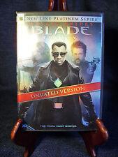 Wesley Snipes `3 DVD Trilogy Blade/ Blade II /Blade:Trinity EUC Marvel Comics