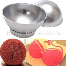 3D Aluminum Sport Ball Sphere Cake Pan Baking Tin Mold Bakeware Kitchen Mould