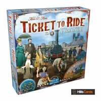 Ticket To Ride: France + Old West Board Game Map Expansion By Days of Wonder