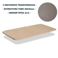 Base tapizada 105x190 tejido 3D sin patas. Nacional Alta calidad al mejor precio