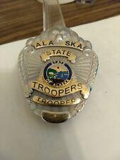 Obsolete Vintage Alaska State Police Trooper Badge.