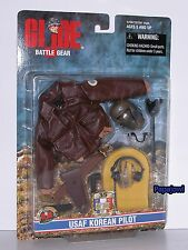 "G.I. Joe Battle Accessory Gear USAF Korean Pilot For 12"" 1/6 Figures Hasbro 1999"