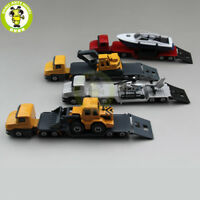 SIKU 1610 1611 1613 1616 Truck Trailer Low Loader with Excavator car toy model