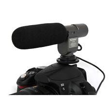 Microfono Stereo Professionale SG-108 per Reflex Canon Nikon Sony Olympus Pentax