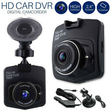 "2.4"" Upgrade Full HD 1080P Car DVR Camera Dash Cam Video Recorder Black GT300"