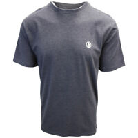 Volcom Men's Heather Black Circle Blanks HTH S/S T-Shirts (S14)