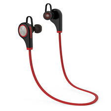 New Wireless WIRELESS BLUETOOTH EARPHONES RED