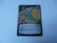 Carte Naruto Awkward Thinking Super rare !!!