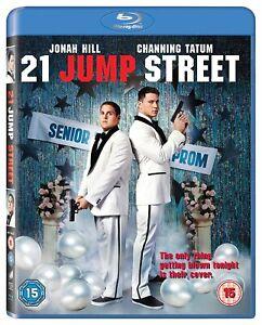 21 Jump Street (Blu-ray) [2012] New Sealed UK Release Channing Tatum Jonah Hill