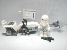 LEGO Star Wars 75098 Snowtrooper and Completed Speeder bike! NEW! Age:7+ Boys