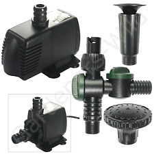 HAILEA HX8810F FOUNTAIN PUMP INLINE 1050L 9m cable fish pond hydroponic HX-8810F