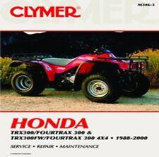 Clymer Repair Manual Honda TRX300/Fourtrax 300 TRX300FW/Fourtrax 300 M346-3