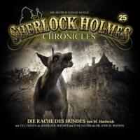SHERLOCK HOLMES CHRONICLES-DIE RACHE DES HUNDES-FOL.25 (ZWEITAUFLAGE)  2 CD NEU
