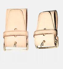 Louis Vuitton Leather Strap 2 PIECE for Keepall Duffle Bag - Poignet 🇫🇷