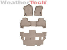 WeatherTech Car/Truck Floorliner for Yukon/Tahoe - 1st, 2nd & 3rd Row - Tan