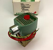 "ASCO 8340G1 120/60 DIRECT-ACTING SOLENOID VALVE 1/4"" 4-WAY 150PSI AIR NOS"