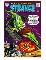 "Strange Adventures 204 VF+ (8.5) 9/68 ""The Crazy Quilt Man!"""