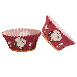 Caissette à cupcake et muffin Snoopy 50 pièces - Dekora