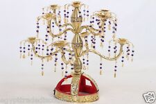 New Belly Dance Candle Holder ,Candelabra Shemadan 9 Candles Handmade In Egypt